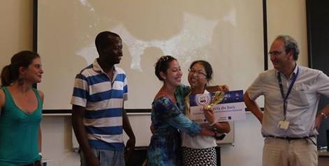 Lanjiao Wang remporte le concours régional «Ma thèse en 180 secondes» !