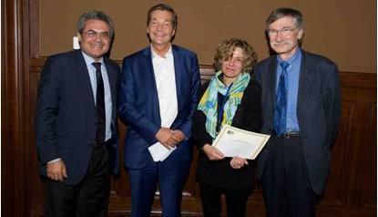 Le Dr. Anne Lavergne récompensé