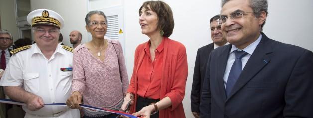 Inauguration d'un nouveau laboratoire de haute sécurité biologique niveau III+ (P3+) par Madame Marisol Touraine