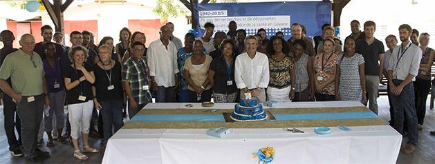 Rapport d'activités 2014-2015 : 75 ans de recherche multidisciplinaire pour appuyer la santé publique en Guyane