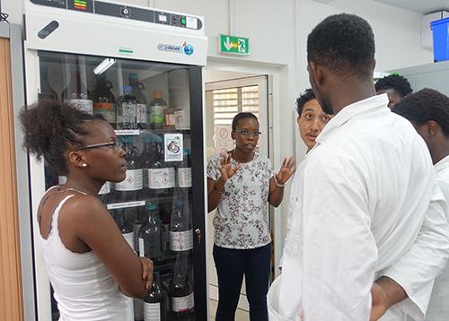 Echanges avec l'équipe du Laboratoire de chimie de substances naturelles