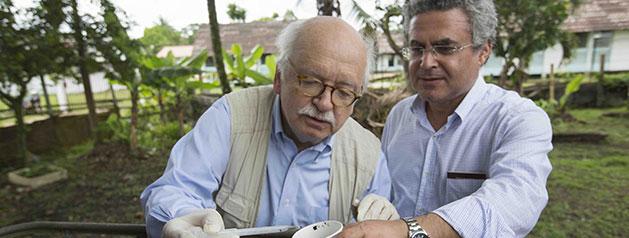 La recherche sur les maladies vectorielles en Guyane mise à l'honneur dans le nouvel ouvrage d'Erik Orsenna