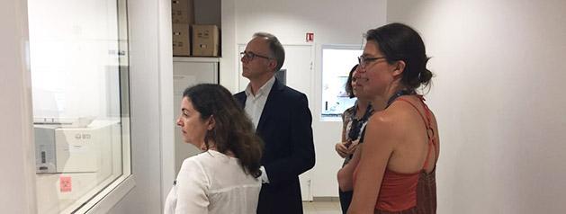 Le Directeur international de l'Institut Pasteur en visite à l'Institut Pasteur de la Guyane